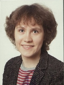 Dr Dinah Parums, Research Fellow in Pathology, Darwin College, Cambridge University, 1986