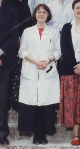 Dr Dinah Parums, Senior Lecturer in Histopathology, 1996